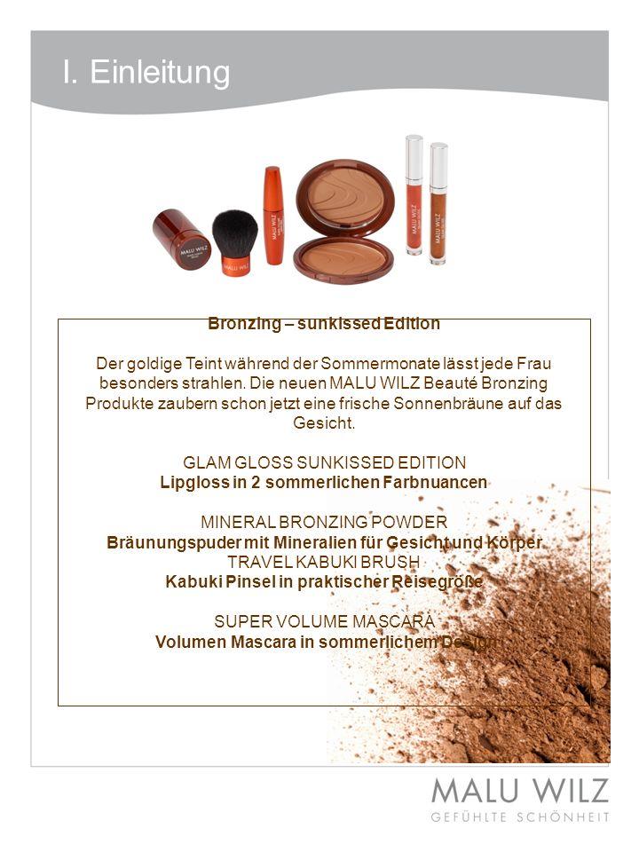 Bronzing – sunkissed Edition Kabuki Pinsel in praktischer Reisegröße