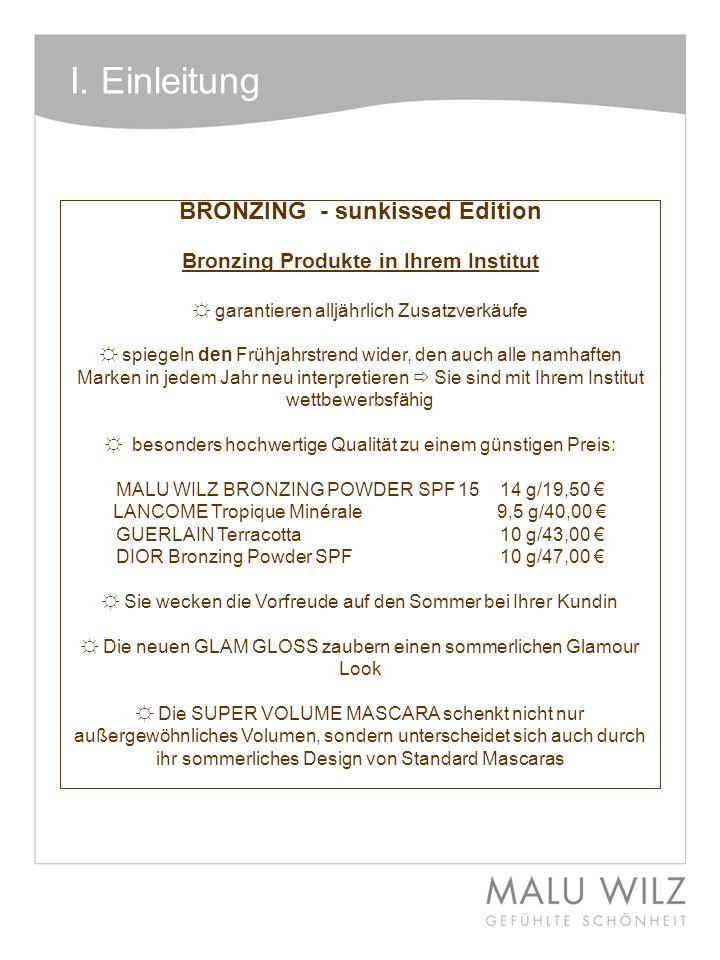 BRONZING - sunkissed Edition Bronzing Produkte in Ihrem Institut