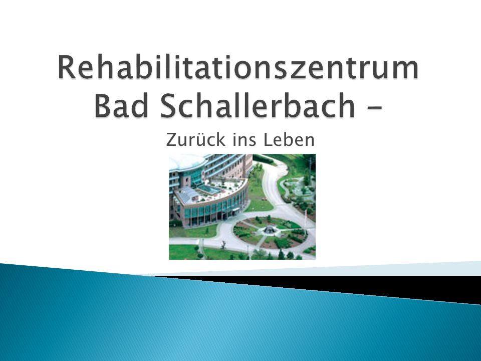 Rehabilitationszentrum Bad Schallerbach -