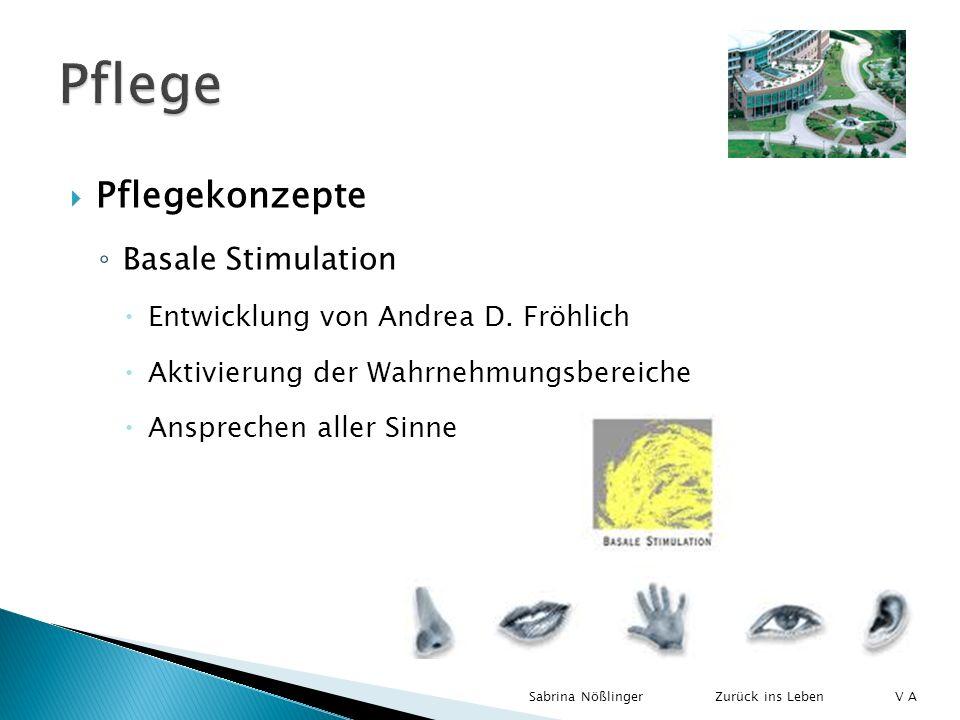 Pflege Pflegekonzepte Basale Stimulation