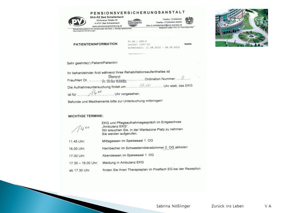 Sabrina Nößlinger V A