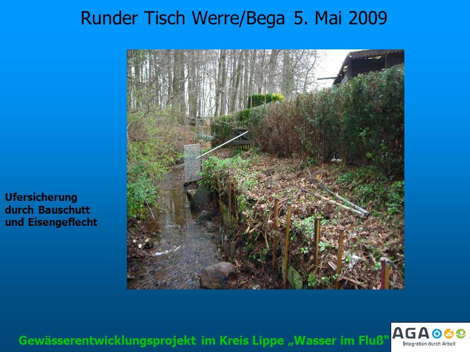 Runder Tisch Werre/Bega 5. Mai 2009