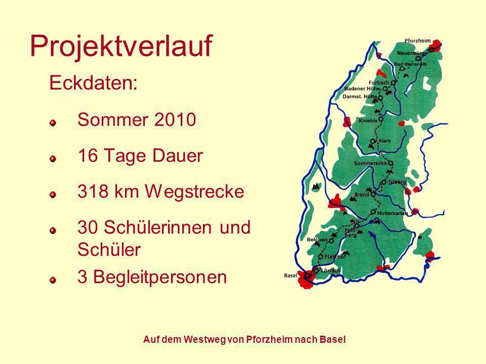 Auf dem Westweg von Pforzheim nach Basel