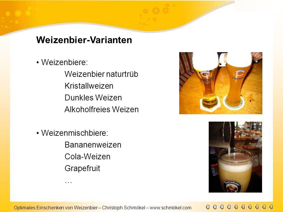 Weizenbier-Varianten