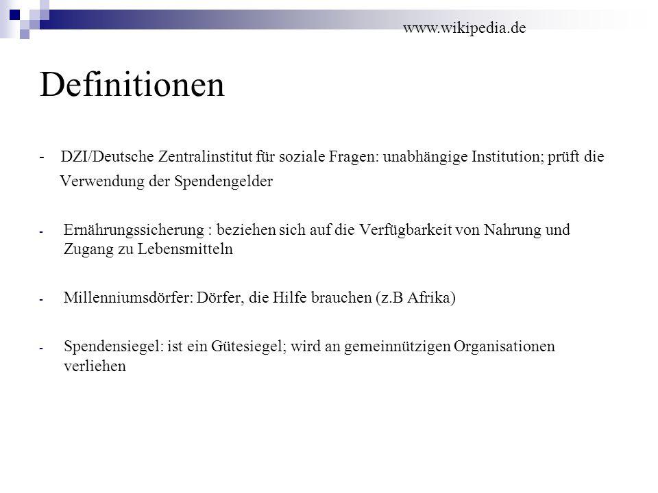 Definitionen www.wikipedia.de