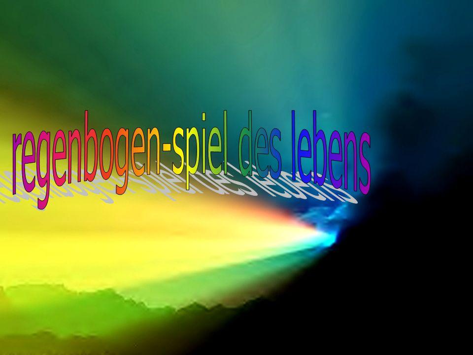 regenbogen-spiel des lebens