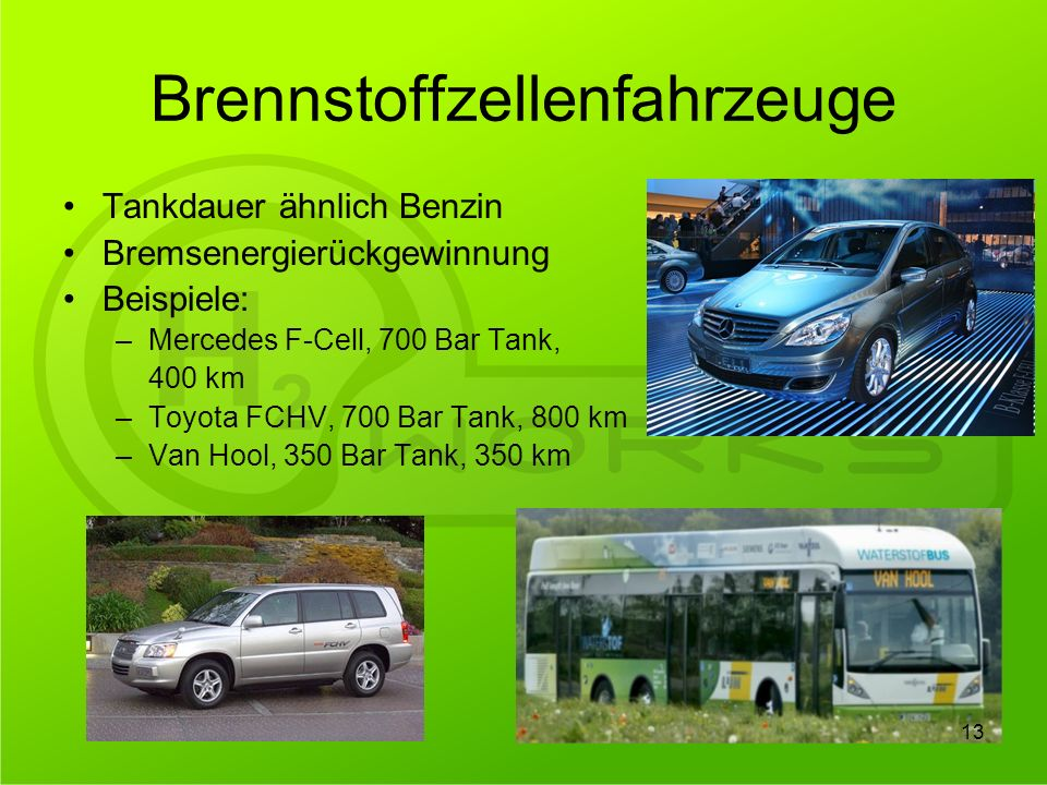 Brennstoffzellenfahrzeuge