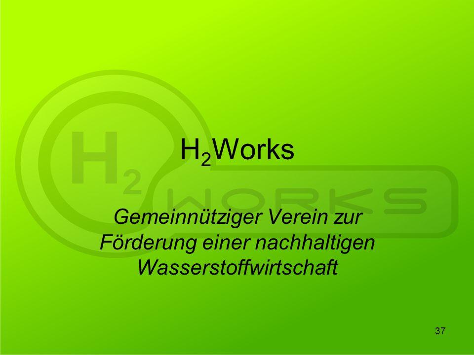 H2Works Gemeinnütziger Verein zur Förderung einer nachhaltigen Wasserstoffwirtschaft