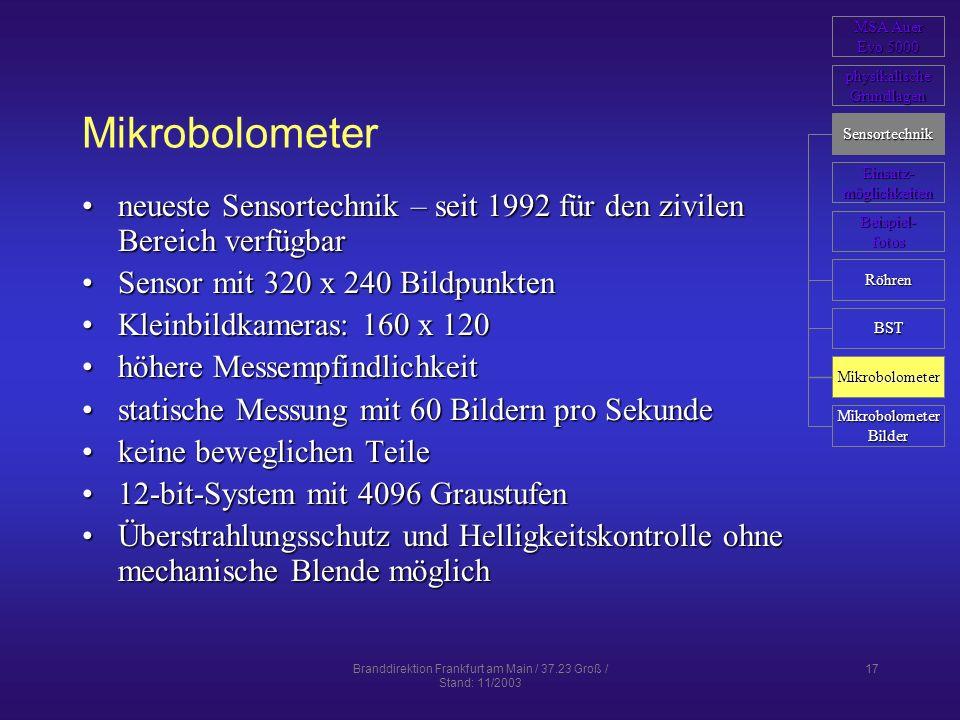 Branddirektion Frankfurt am Main / 37.23 Groß / Stand: 11/2003