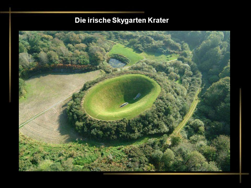 Die irische Skygarten Krater