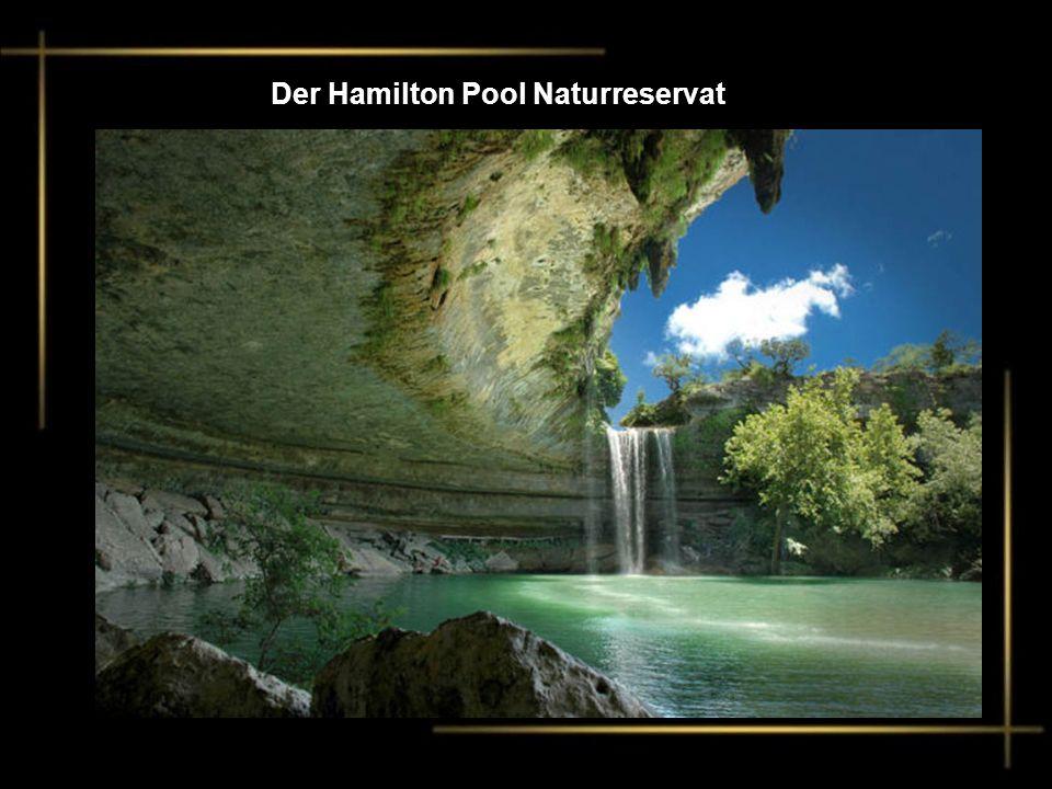 Der Hamilton Pool Naturreservat