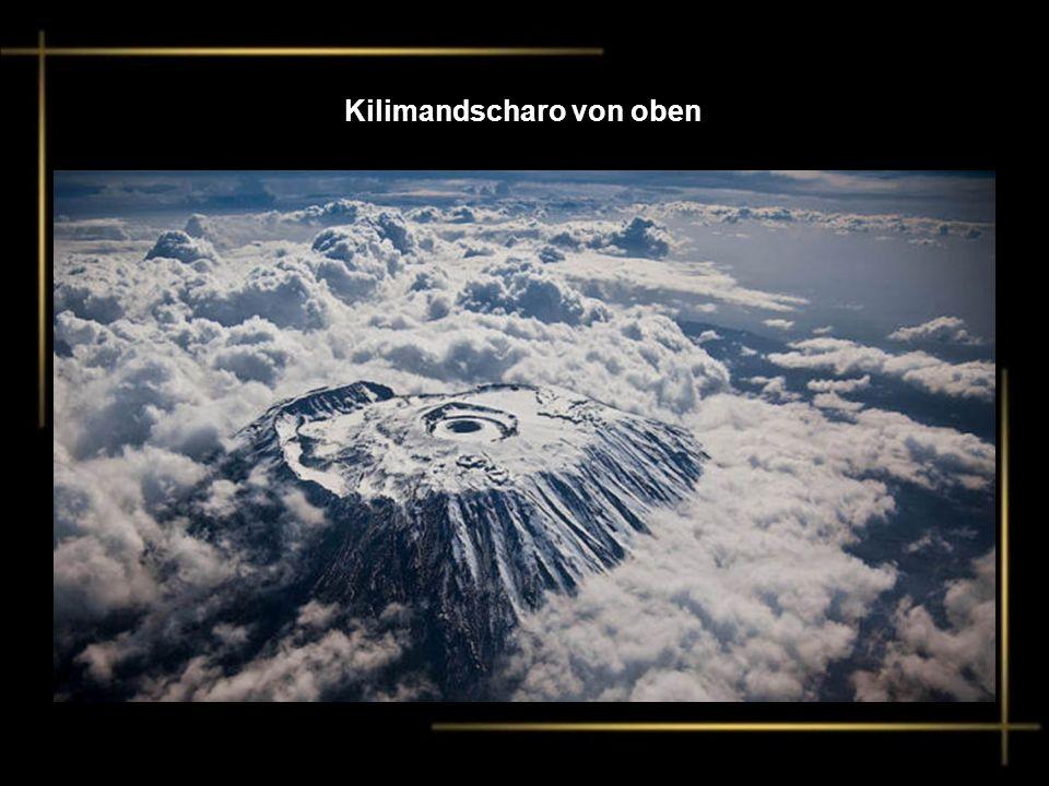 Kilimandscharo von oben