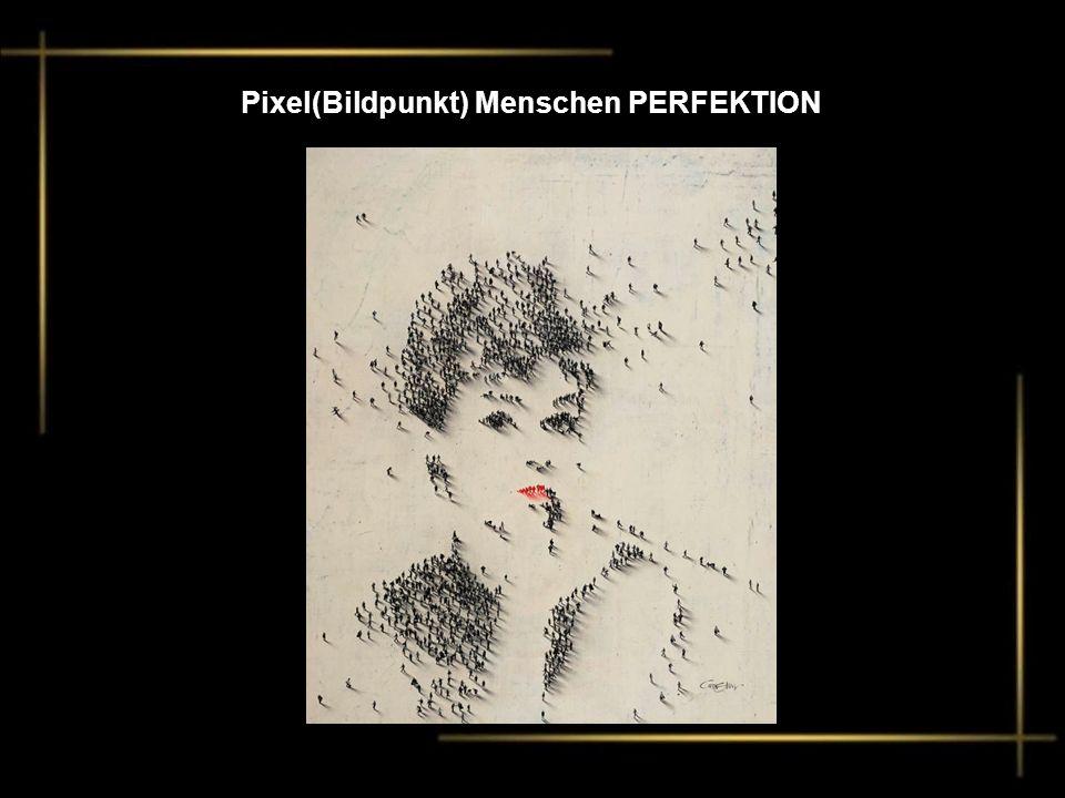 Pixel(Bildpunkt) Menschen PERFEKTION