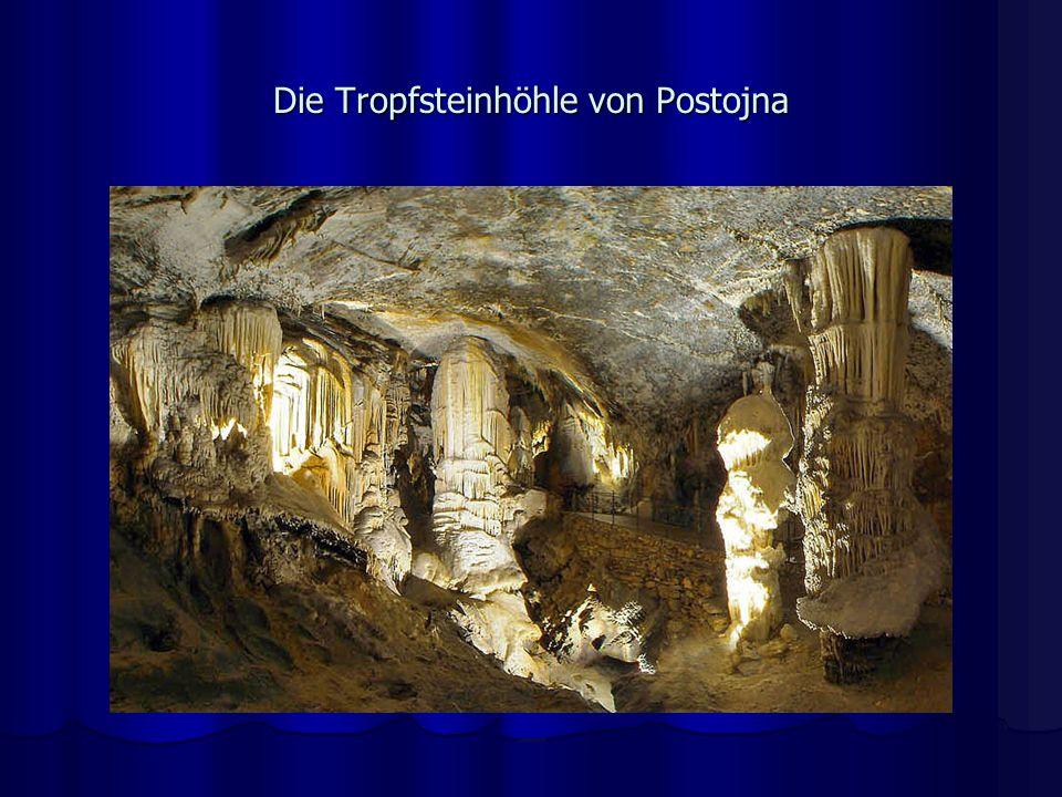 Die Tropfsteinhöhle von Postojna