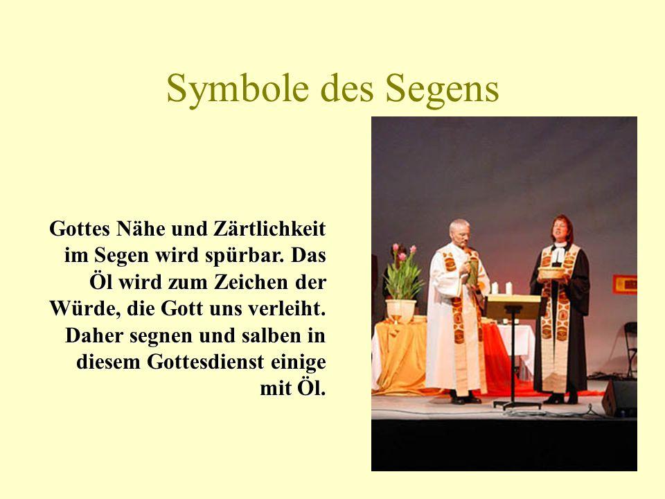 Symbole des Segens
