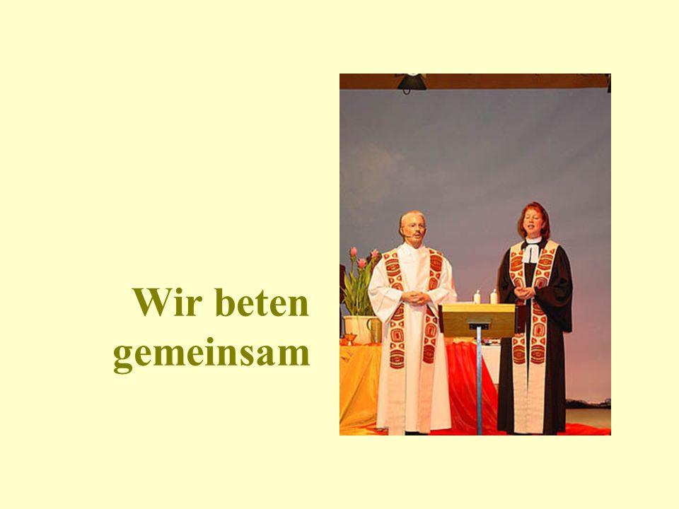 beten im gottesdienst