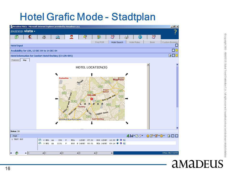 Hotel Grafic Mode - Stadtplan