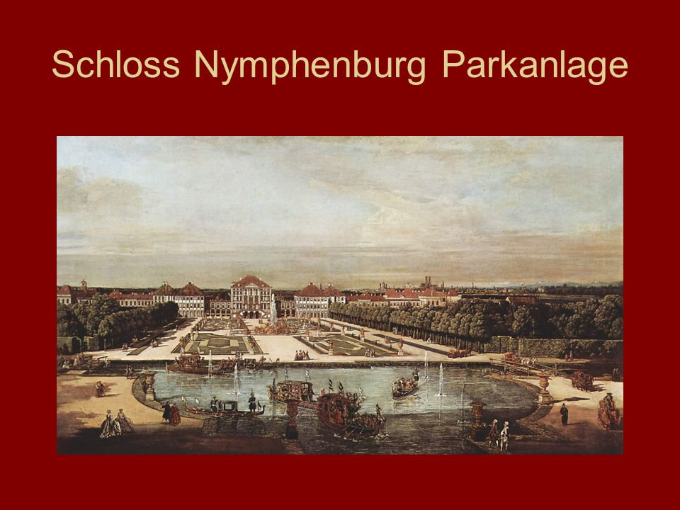 Schloss Nymphenburg Parkanlage