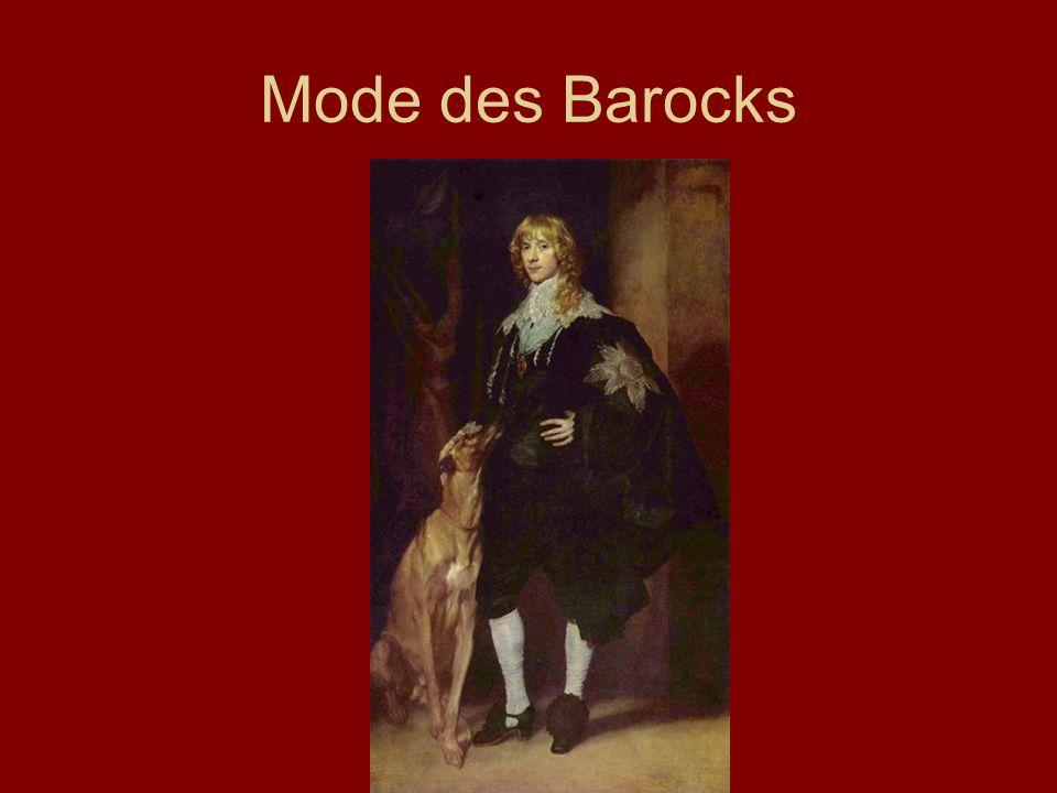 Mode des Barocks