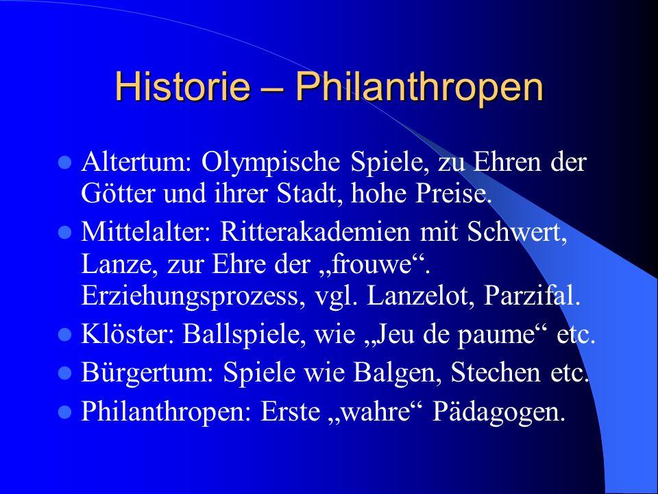 Historie – Philanthropen