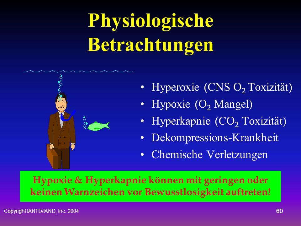 Physiologische Betrachtungen