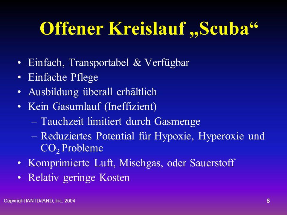 "Offener Kreislauf ""Scuba"