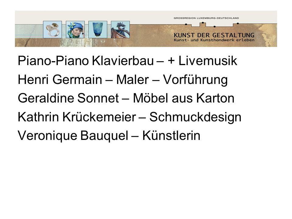 Piano-Piano Klavierbau – + Livemusik