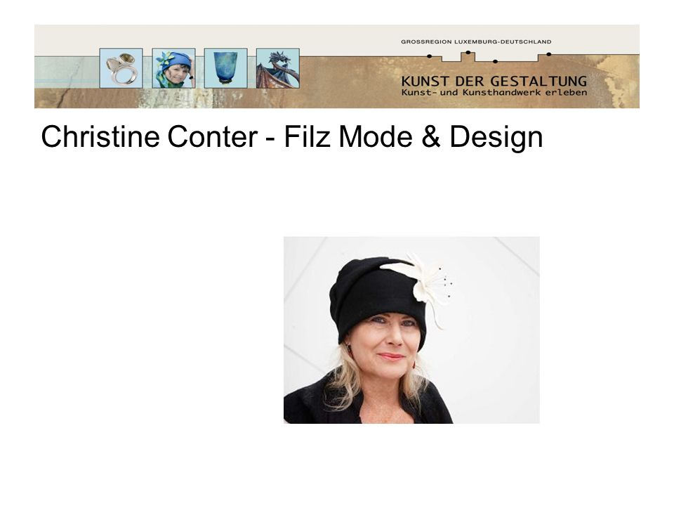 Christine Conter - Filz Mode & Design