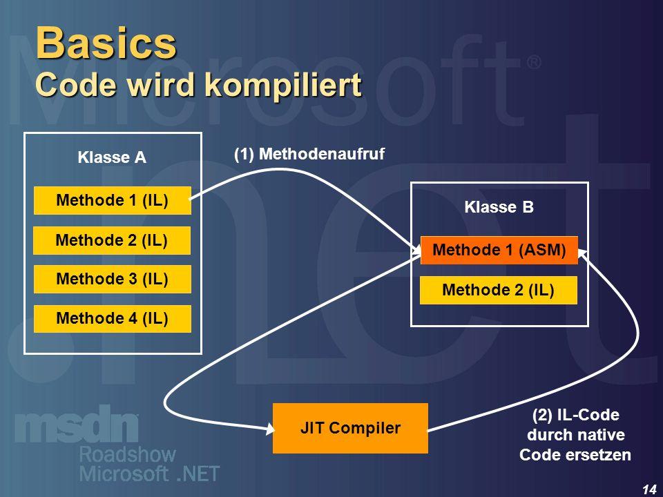 Basics Code wird kompiliert