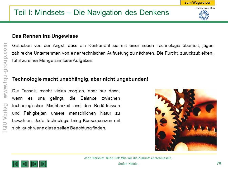 Teil I: Mindsets – Die Navigation des Denkens