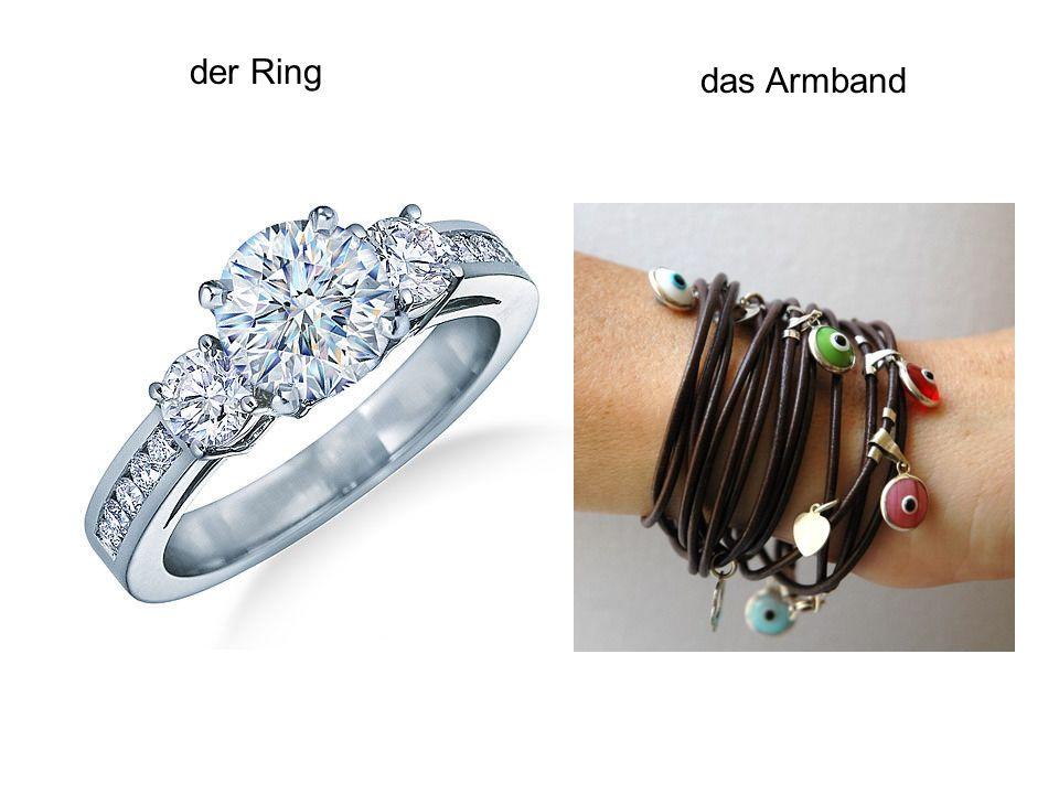 der Ring das Armband