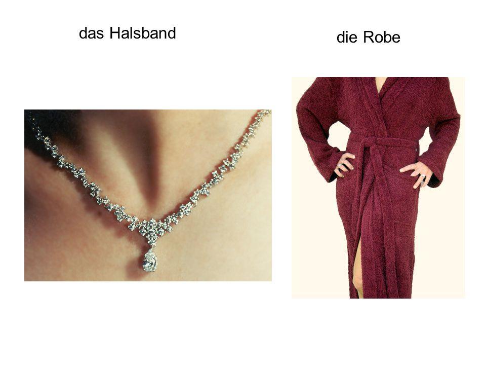das Halsband die Robe