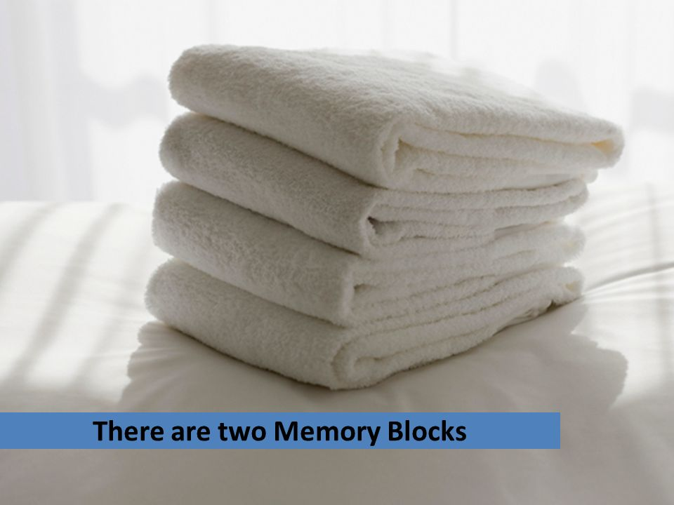 There are two Memory Blocks