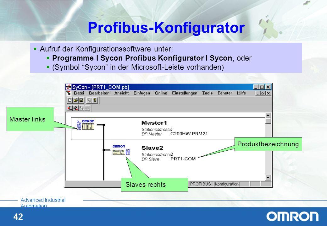 Profibus-Konfigurator