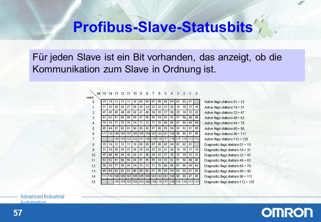 Profibus-Slave-Statusbits
