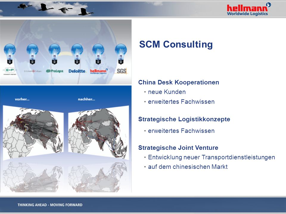 SCM Consulting China Desk Kooperationen neue Kunden