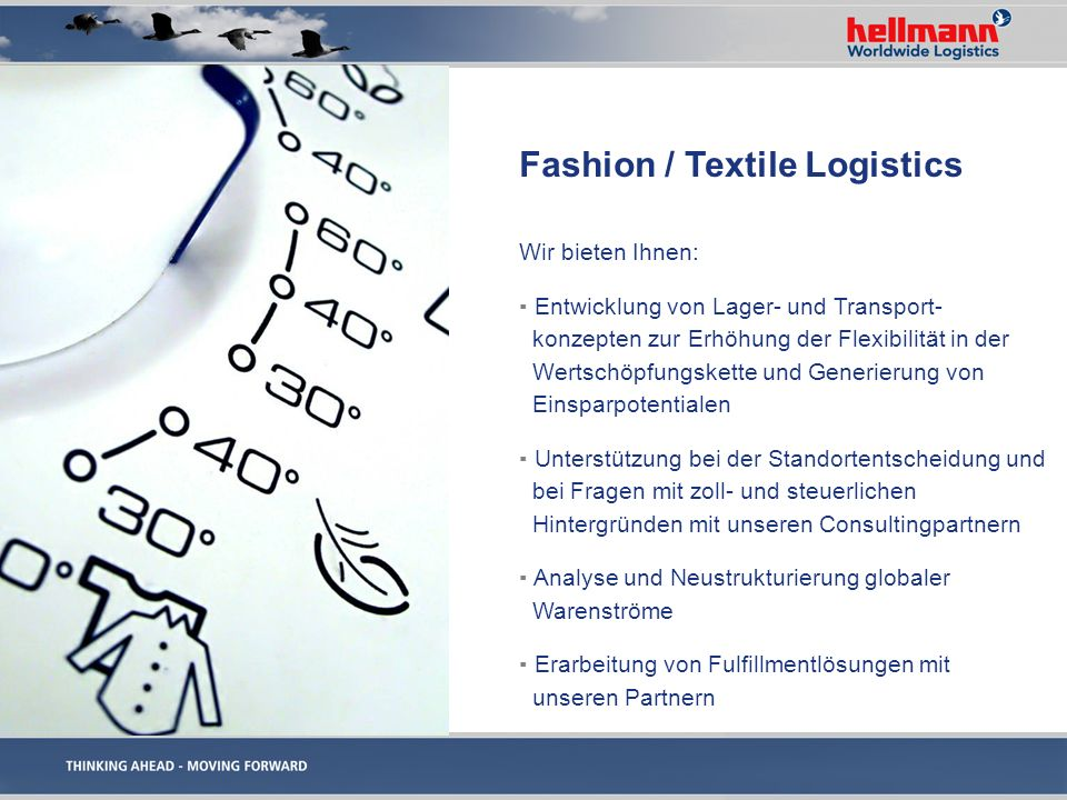 Fashion / Textile Logistics