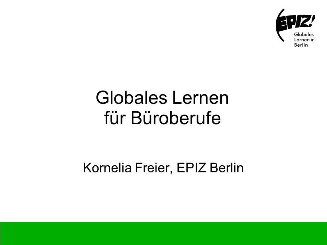 Globales Lernen für Büroberufe
