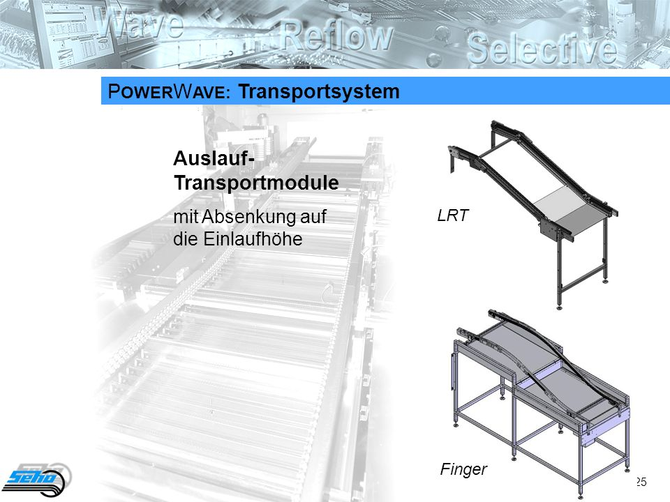 POWERWAVE: Transportsystem