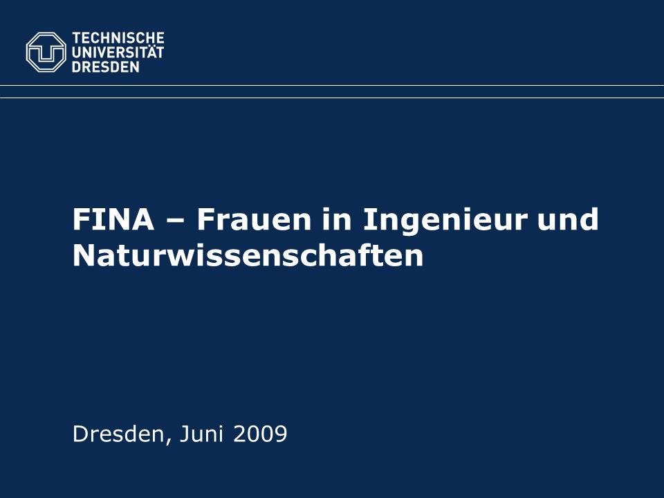 FINA – Frauen in Ingenieur und Naturwissenschaften