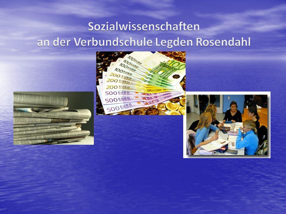 Sozialwissenschaften an der Verbundschule Legden Rosendahl