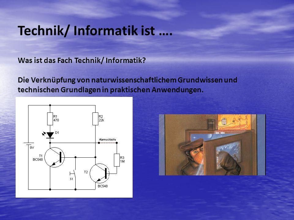 Technik/ Informatik ist ….