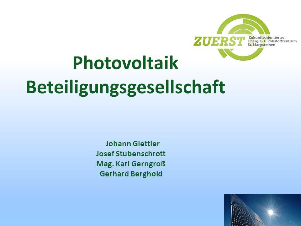 Photovoltaik Beteiligungsgesellschaft