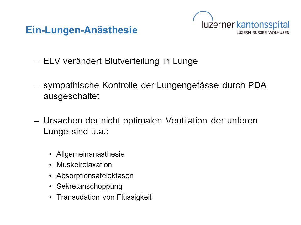 Ein-Lungen-Anästhesie