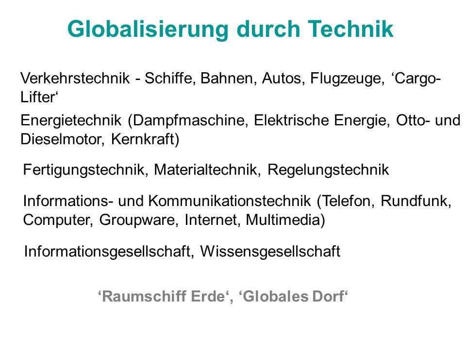 Globalisierung durch Technik