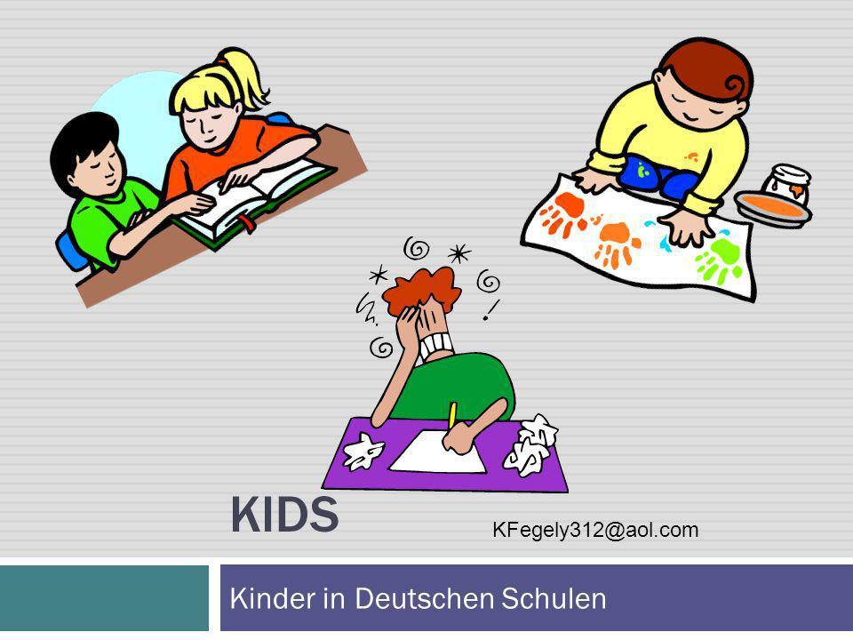 Kinder in Deutschen Schulen