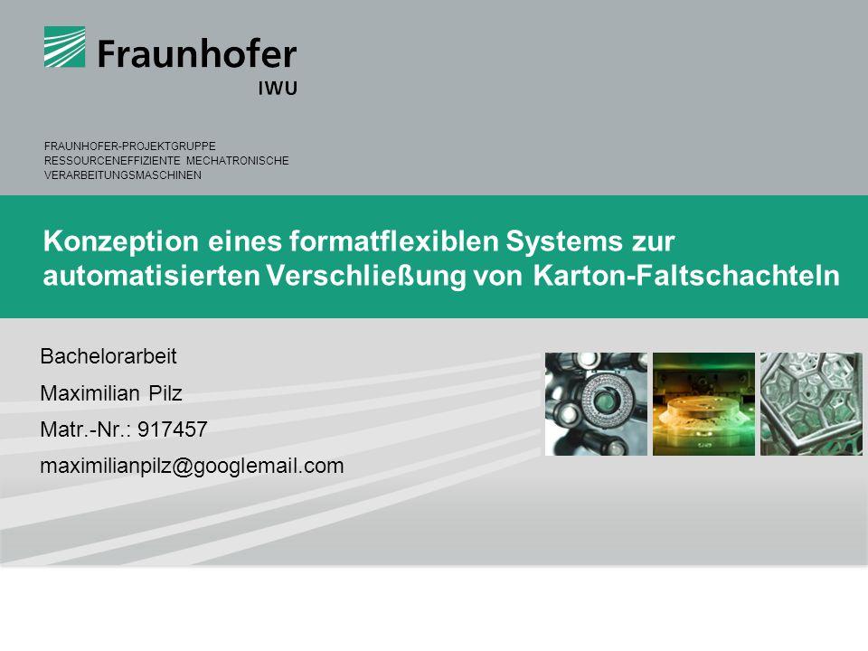 Konzeption eines formatflexiblen Systems zur automatisierten Verschließung von Karton-Faltschachteln