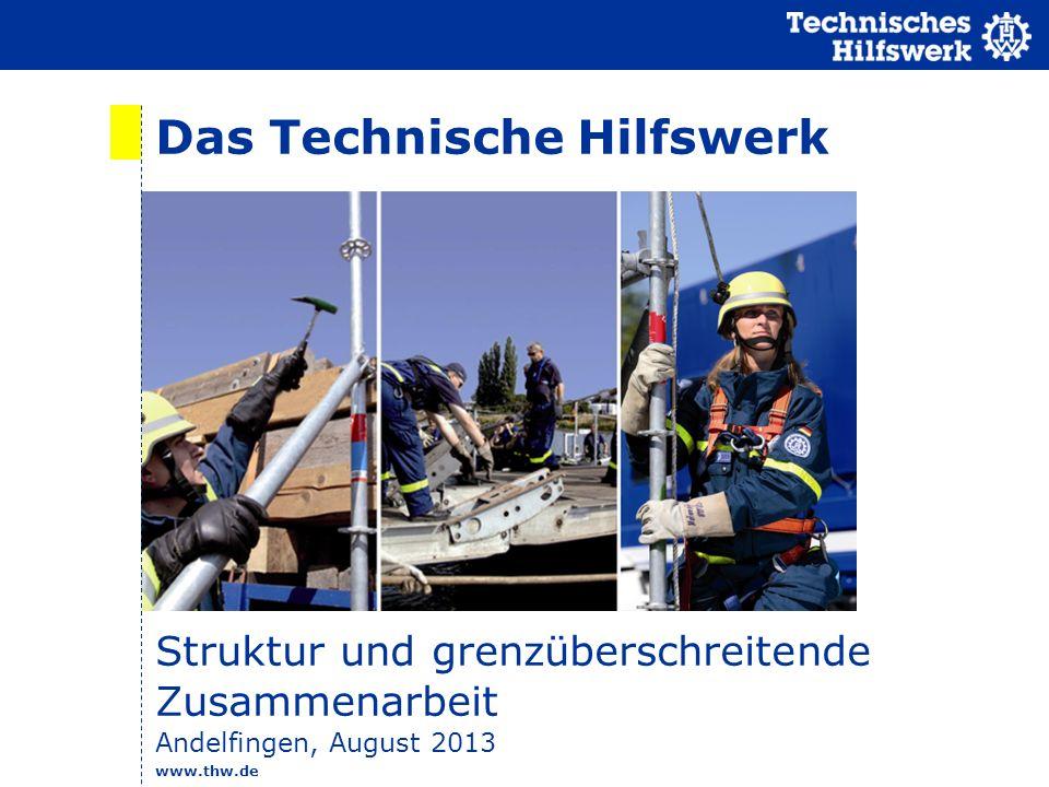 Das Technische Hilfswerk
