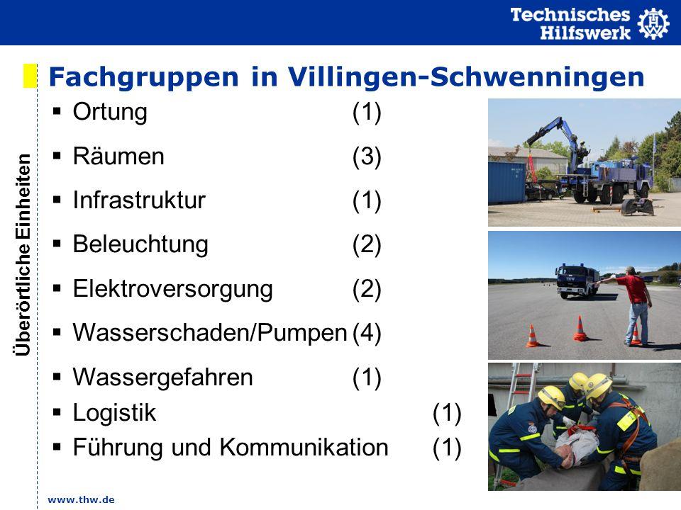 Fachgruppen in Villingen-Schwenningen