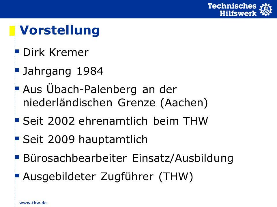 Vorstellung Dirk Kremer Jahrgang 1984